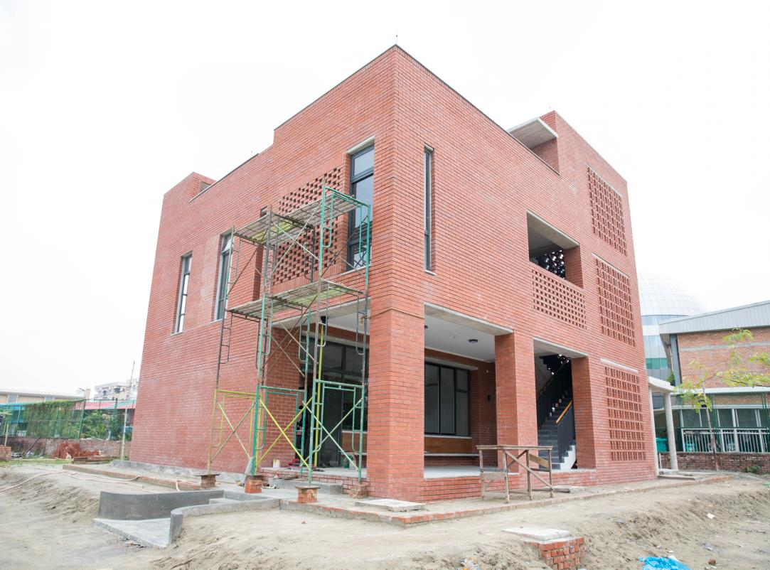 Aga Khan Academy Dhaka construction October 2018