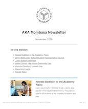 AKA Mombasa Newsletter November 2019