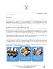 Mombasa Junior School Newsletter November 2018