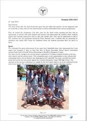 AKA Mombasa Senior School Newsletter April 2016