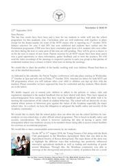 Mombasa Senior School Newsletter September 2018