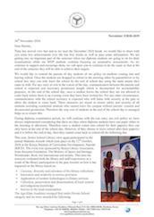 Mombasa Senior School Newsletter November 2018