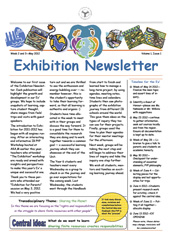 PYP Newsletter - May 2012