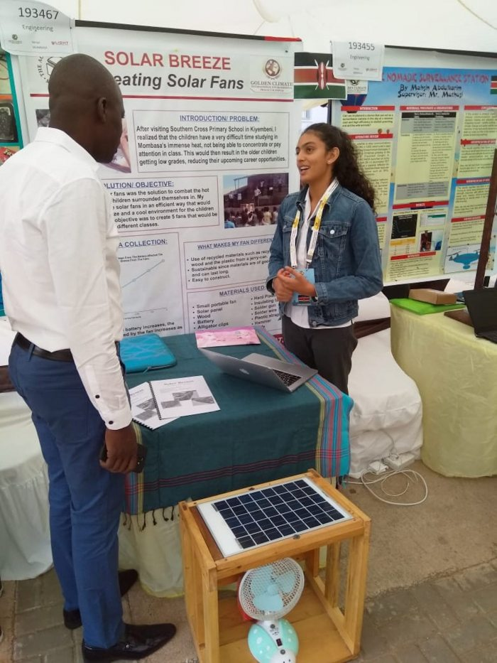 Students compete in the 9th Golden Climate International