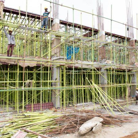 Aga Khan Academy Dhaka construction October 2018