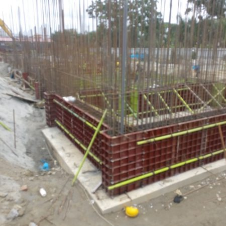 Aga Khan Academy Dhaka construction August 2018