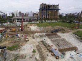 AKA Dhaka construction June 2018