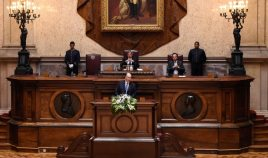 The Aga Khan addresses the Portuguese Parliament