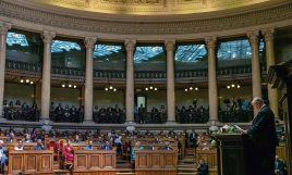 His Highness the Aga Khan addresses the Portuguese Parliament