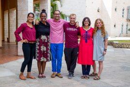 Aleesha and Academy Fellows