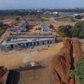 AKA Maputo construction August 2017