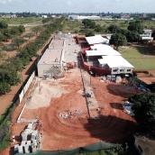 AKA Maputo construction October 2018