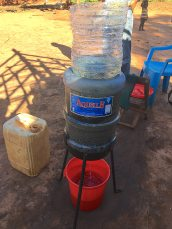 Ambuj's water filtration system