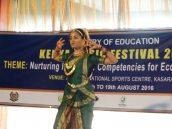 Rishika Ghokale performing her Bharat Natyam solo