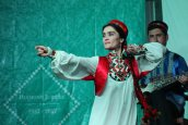 Sohiba left the audience with much excitement as she danced to one of the Tajik traditional songs
