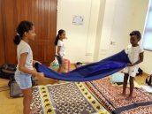 Naqiyah Hassanali (year 3), Sarah Bhaiji (year 3), Elliana Maina (year 3)