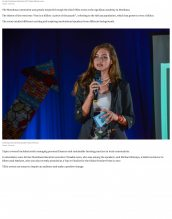 Internal and external speakers were invited to present at the third annual TEDxYouth event at AKA Mombasa.