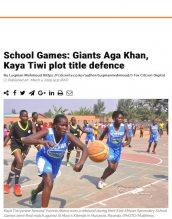 Both girls and boys basketball teams win County games.