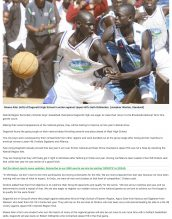 AKA Mombasa boys' basketball team is featured before the national basketball games.
