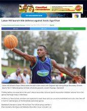 AKA Mombasa's boys' basketball team is featured in Standard Media.