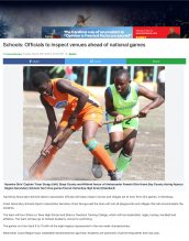 AKA Mombasa's boys' basketball team is mentioned in Standard Media in preparation for the national games.