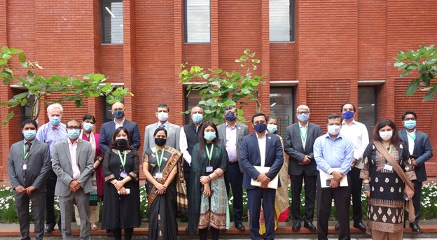Visit to Aga Khan Academy Dhaka of the Honourable Foreign Secretary HE Mr. Masud Bin Momen and the Delegation from the Ministry of Foreign Affairs of the Government of the People's Republic of Bangladesh (Credit: AKDN)