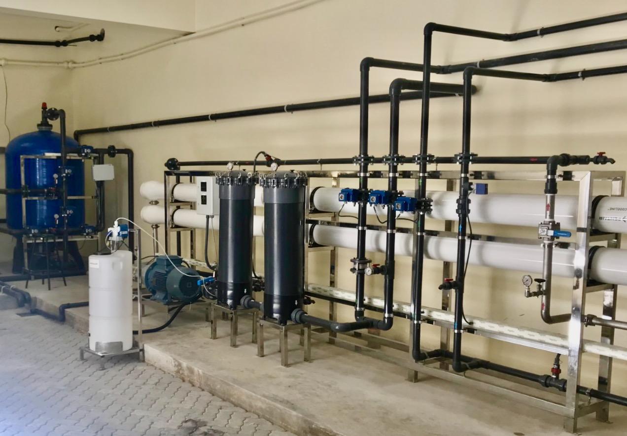 Reverse osmosis plant at AKA Mombasa