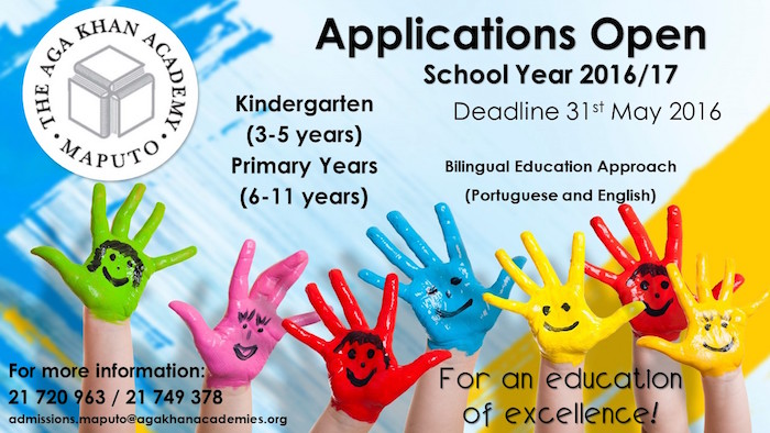 Applications Open for 2016-17