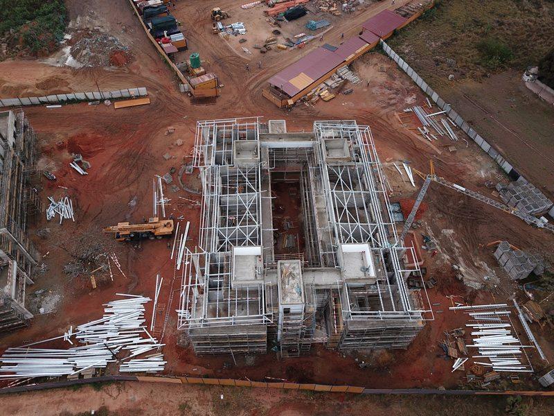 AKA Maputo construction August 2018