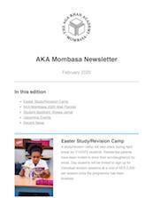 Aga Khan Academy Mombasa Newsletter February 2020