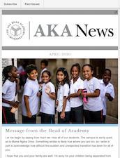 Aga Khan Academy Mombasa Newsletter - April 2020
