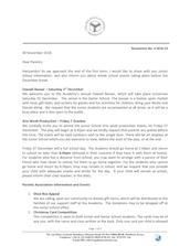 Mombasa Junior School Newsletter November/December 2018