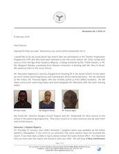 Mombasa Junior School Newsletter February 2019