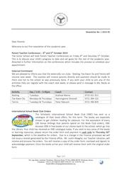 Junior School Newsletter No. 1 - September 2019