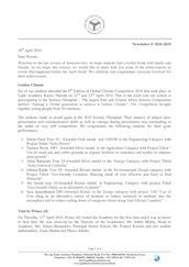Mombasa Senior School Newsletter April 2019