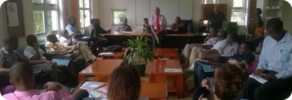 AKA Mombasa Senior School staff meeting