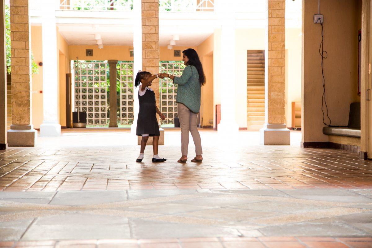 Anusha, encouraging student expression in the Junior School