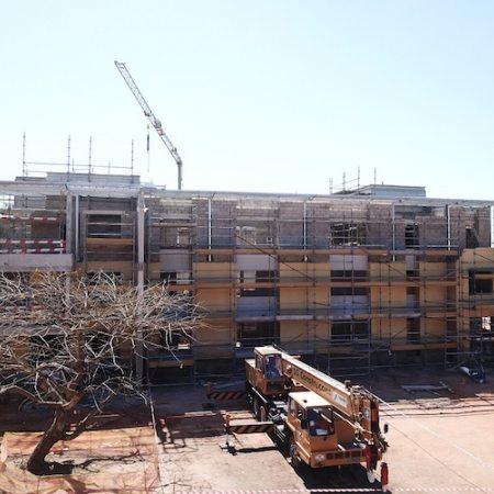 AKA Maputo construction September 2018