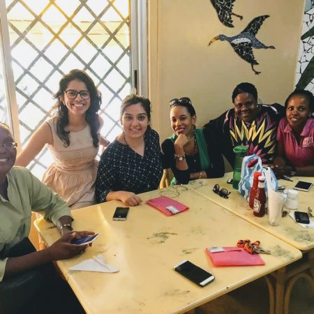 Zohra Lakhani, from UCLA to Kenya