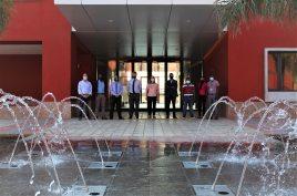 AKA Maputo's water fountain