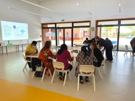 PYP coffee session with parents at AKA Maputo