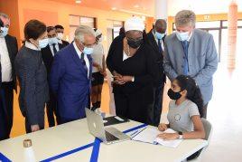 Minister of Education and Human Development at AKA Maputo.