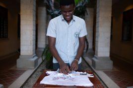 Raphael Mwachiti and his invention