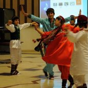 Tajik dancing