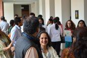 IB workshop participants enjoy a well earned break