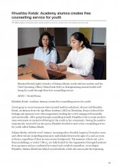 AKDN features AKA Mombasa alumna Khushbu Kotak for creating free counselling service for the youth