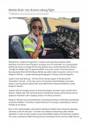 AKA Mombasa student Mahek Shah (DP1) featured on AKDN website for her dream to become a pilot