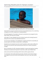 AKA Mombasa student mentioned in The Standard for swimming prowess